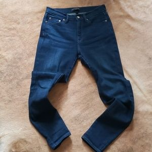 Banana republic high waisted skinny jeans 27/4
